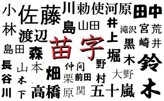 名字 苗字 四月一日に関連した画像-01
