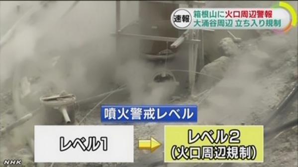 箱根山 大涌谷 避難指示に関連した画像-01