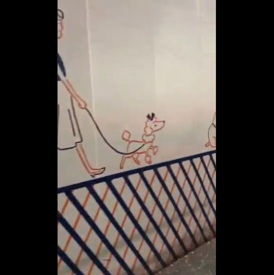 渋谷 工事中シャッター 絵に関連した画像-12