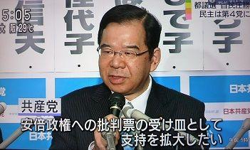 日本共産党 志位和夫 ヤジ テロ政党に関連した画像-01