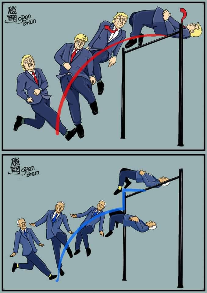 米大統領選 バイデン 不正 風刺画 ミームに関連した画像-02