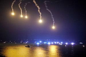 韓国 沈没 照明弾 山火事に関連した画像-01