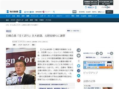 韓国 慰安婦問題 日韓合意 管理不能に関連した画像-02