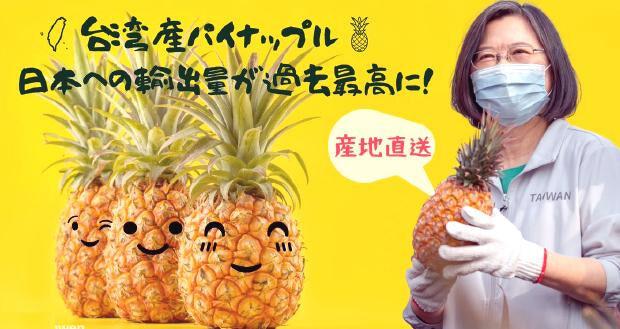 台湾 パイナップル 日本人 売り切れ 中国 輸入停止に関連した画像-01