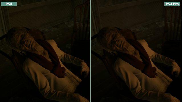バイオハザード 比較 PS4 PS4Proに関連した画像-10