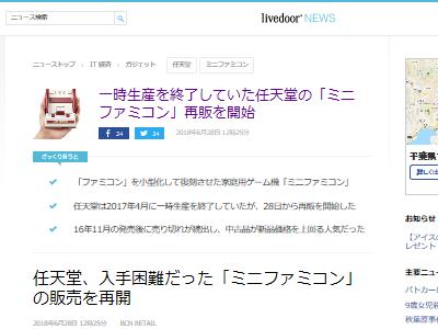 ミニファミコン 再販 任天堂に関連した画像-02