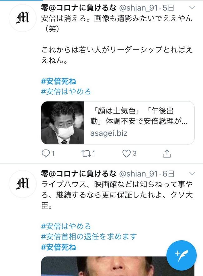 安倍晋三 安倍総理 安倍首相 木村花 左翼 誹謗中傷 ダブスタ お前が言うなに関連した画像-07