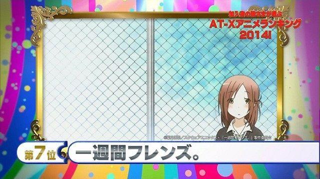 2014年アニメランキング AT-X ごちうさ 野崎くんに関連した画像-08