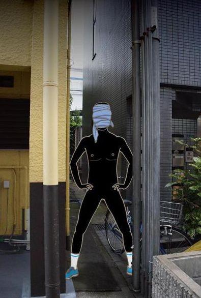神出鬼没 変態 丸裸 全裸マン 全裸 兵庫県 警察 逮捕 捜査網に関連した画像-03