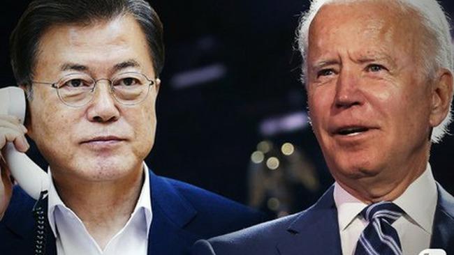 韓国 バイデン 電話会談 菅首相 文在寅に関連した画像-01