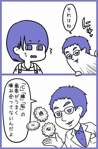 精神 栄養 脳 漫画 不眠 ストレスに関連した画像-04