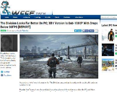 ディビジョン PC XboxOne fpsに関連した画像-02
