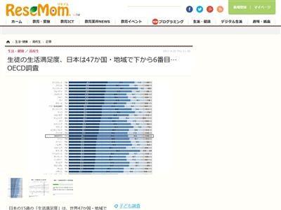 生活満足度 OECD調査に関連した画像-02