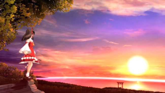 東方 同人ゲー 舞華蒼魔鏡に関連した画像-04