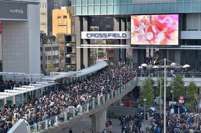 マクロスF シェリル・ノーム 新曲PV 秋葉原に関連した画像-03