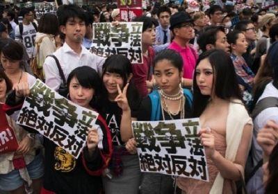 SEALDs デモ 日の丸に関連した画像-05