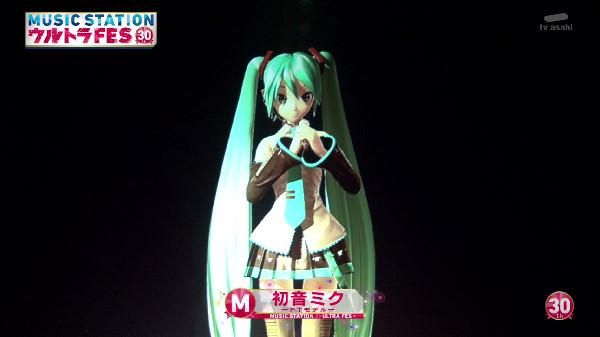 初音ミク ミュージックステーション Mステ タモリ 反応 ドン引き 放送事故に関連した画像-04