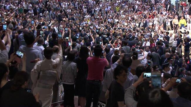 トランプ大統領 大相撲 観戦に関連した画像-02