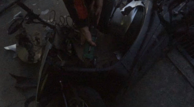 PS4 破壊 親父 ハンマー たむちん 逆襲 原付バイクに関連した画像-09