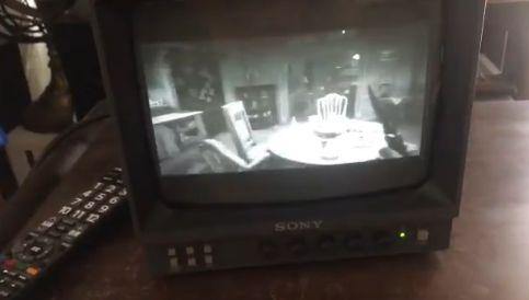 モノクロブラウン管テレビ ブラウン管 テレビ バイオ バイオハザード7 ホラゲーに関連した画像-02