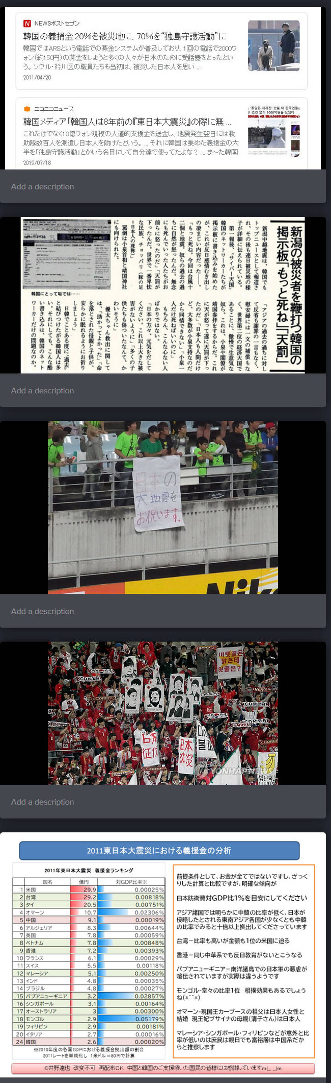 韓国 東日本大震災 捏造 歴史修正に関連した画像-05