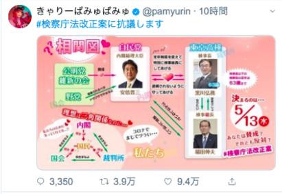 きゃりーぱみゅぱみゅ #検察庁法改正案に抗議します 謝罪 ツイッター ツイ消しに関連した画像-02