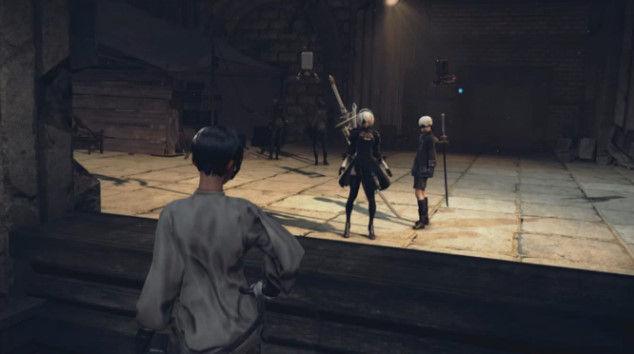 ニーアオートマタ DLC あやまりロボ コロシアムに関連した画像-09