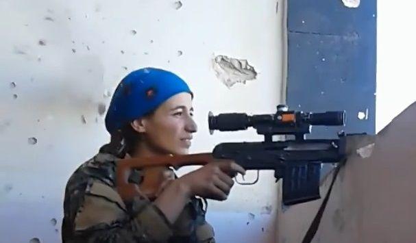 女性スナイパー ヘッドショット ISISに関連した画像-01