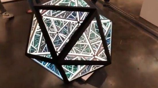 LAアートショー 正二十面体 あわせ鏡に関連した画像-01