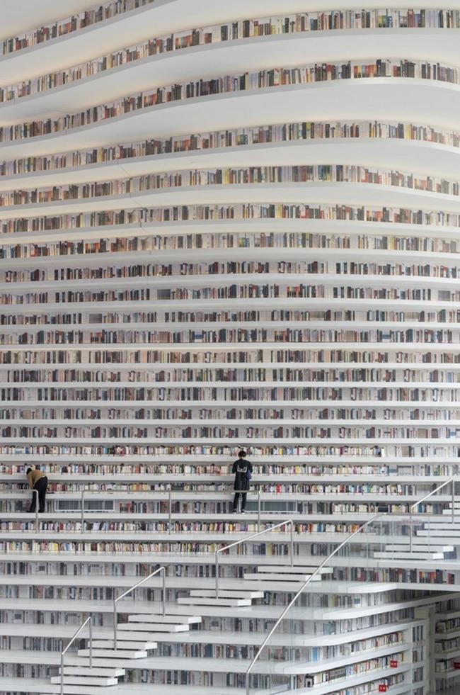 中国 図書館 浜海新区図書館に関連した画像-03