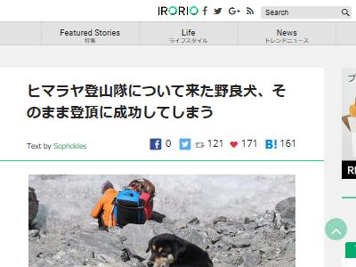 ヒマラヤ 登山隊 犬 登頂 に関連した画像-02