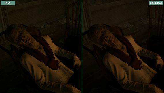 バイオハザード 比較 PS4 PS4Proに関連した画像-01