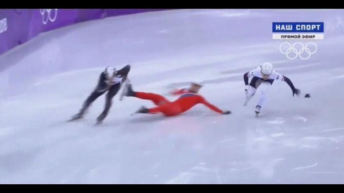 オリンピック 五輪 スピードスケート ショートトラック 北朝鮮 妨害に関連した画像-08