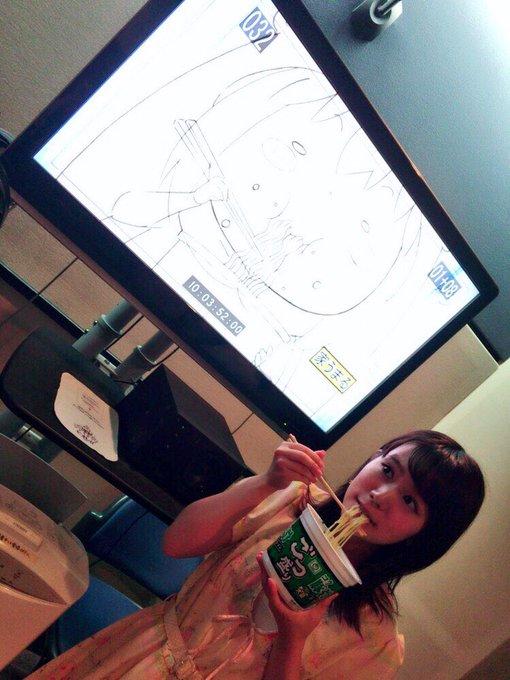 カップ麺 うまるちゃん 干物妹 飯テロ 収録に関連した画像-02