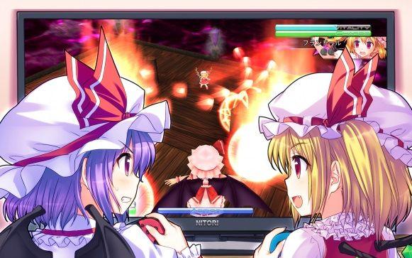ニンテンドースイッチ Play,Doujin! 東方紅舞闘に関連した画像-01