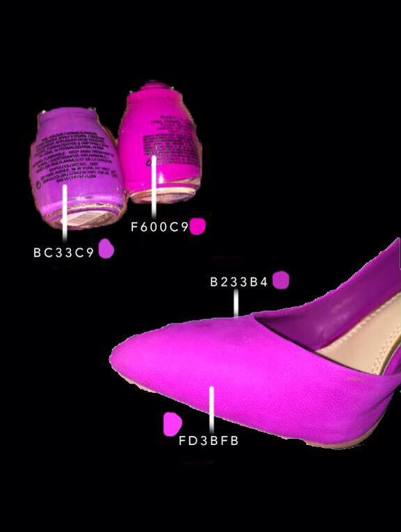 マニキュア 色 紫 に関連した画像-04