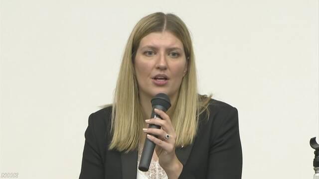 ノーベル平和賞を受賞したICAN事務局長「核の脅威助長している」と日本政府を批判
