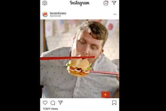 ニュージーランド バーガーキング 巨大な箸 広告 炎上に関連した画像-01