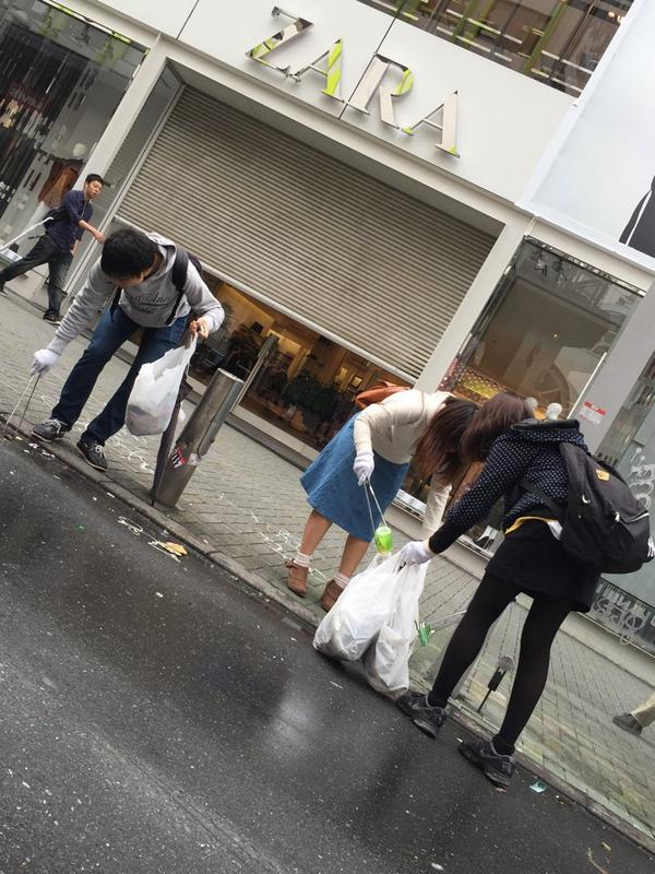 ハロウィン 渋谷 ゴミに関連した画像-12