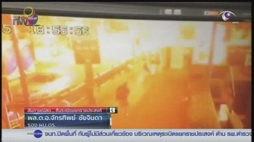 タイ バンコク 爆発事故 爆弾 繁華街 警察に関連した画像-01