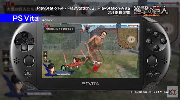 進撃の巨人 PSVita版 PS3版 グラフィックに関連した画像-04