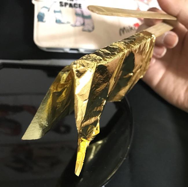 金 純金 ガンプラ 百式に関連した画像-04