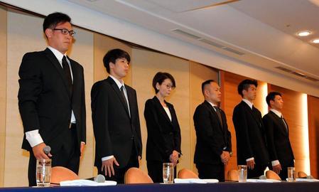 バスケ日本代表4選手が謝罪会見、代表ユニフォームのまま買春していたことが判明