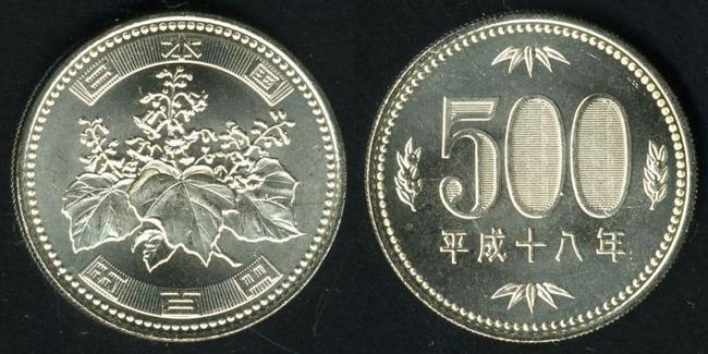 偽500円硬貨 偽造硬貨 マジック用に関連した画像-01