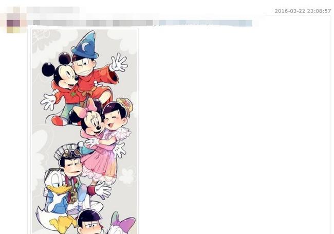 ディズニー アメリカ 版権 おそ松さんに関連した画像-02