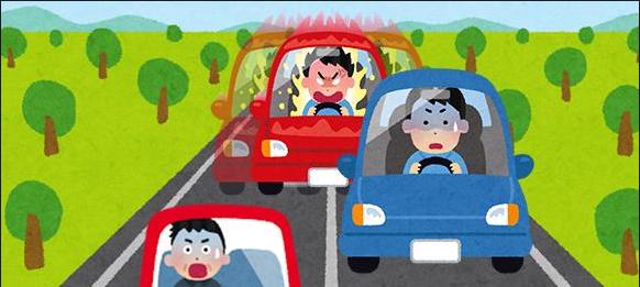 煽り運転 動画 ドラレコ ドライブレコーダーに関連した画像-01