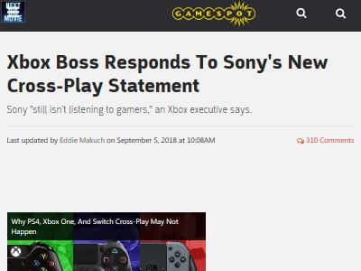 ソニー クロスプレイ Xboxに関連した画像-02