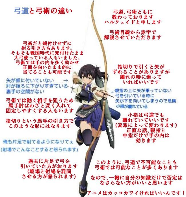 艦これ 弓道 論争 赤城 加賀に関連した画像-04