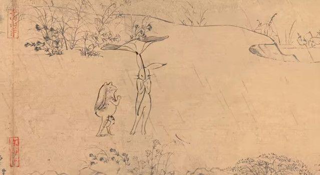 鳥獣戯画 ジブリ アニメ CM 丸紅新電力に関連した画像-12