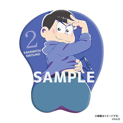おそ松さん 公式 発売決定 お尻マウスパッド に関連した画像-03